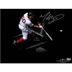 Mookie Betts Signed Boston Red Sox 11x14 Photo (Fanatics Hologram)