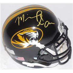 Michael Sam Signed Missouri Tigers Mini-Helmet (Radtke COA)
