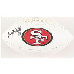 Wesley Walls Signed San Francisco 49ers Logo Football (Radtke COA)