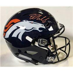 Bradley Chubb Signed Denver Broncos Full-Size Authentic On-Field SpeedFlex Helmet (Beckett COA)