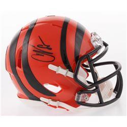 Chad Johnson Signed Cincinnati Bengals Speed Mini Helmet (Radtke COA)