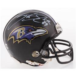 Steve Smith Sr. Signed Baltimore Ravens Mini Helmet (Radtke COA)