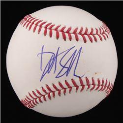 David Spade Signed OML Baseball (JSA COA)