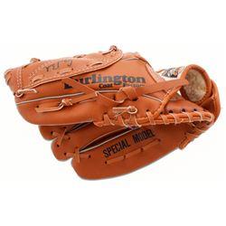 George W. Bush Full-Size Baseball Catchers Glove (JSA LOA)