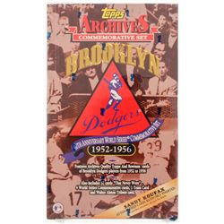 1995 Topps Archives Brooklyn Dodgers 1952-56 40th Anniversary World Series Commemorative Set