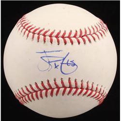 James Paxton Signed OML Baseball (PSA COA)