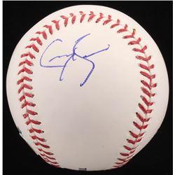 Greg Bird Signed OML Baseball (PSA COA)