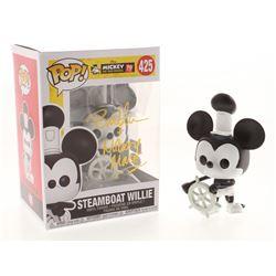"Bret Iwan Signed  Inscribed Mickey Mouse ""Steamboat Willie"" Disney #425 Funko Pop! Vinyl Figure (JSA"