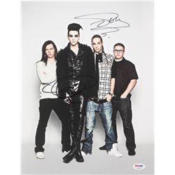 "Bill Kaulitz  Tom Kaulitz Signed ""Tokio Hotel"" 11x14 Photo (PSA COA)"