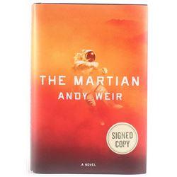 "Matt Damon  Andy Weir Signed ""The Martian"" Hardcover Book (PSA COA)"