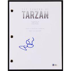 """Alexander Skarsgard Signed """"The Legend Of Tarzan"""" Movie Script (Beckett COA)"""
