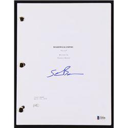 "Steve Buscemi Signed ""Boardwalk Empire"" Pilot Script (JSA COA)"