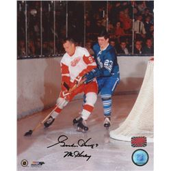 """Gordie Howe Signed Detroit Red Wings 8x10 Photo Inscribed """"Mr. Hockey"""" (Your Sports Memorabilia Stor"""