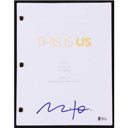 """Milo Ventimiglia Signed """"This Is Us"""" Script (Beckett COA)"""