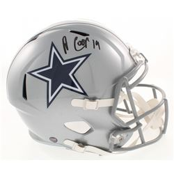 Amari Cooper Signed Dallas Cowboys Full-Size Speed Helmet (Prova COA)