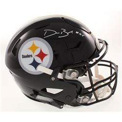 Devin Bush Jr Signed Pittsburgh Steelers Full-Size Authentic On-Field Speedflex Helmet (Radtke COA)