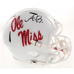 A.J. Brown Signed Ole Miss Rebels Full-Size Speed Helmet (Radtke COA)