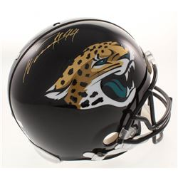 Myles Jack  Jalen Ramsey Signed Jacksonville Jaguars Full-Size Authentic On-Field Helmet (Radtke COA
