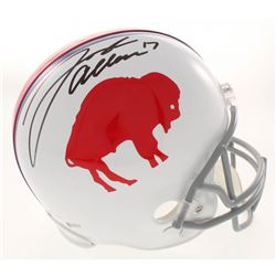 Josh Allen Signed Buffalo Bills Throwback Full-Size Helmet (Beckett COA)
