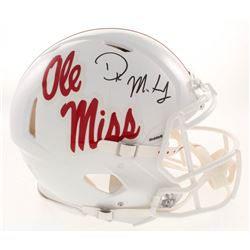 D.K. Metcalf Signed Ole Miss Rebels Full-Size Authentic On-Field Speed Helmet (Radkte COA)