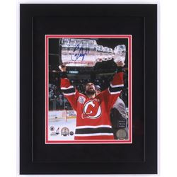 Scott Niedermayer Signed New Jersey Devils 13x16 Custom Framed Photo Display (Steiner COA  Niedermay