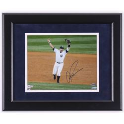 Alex Rodriguez Signed New York Yankees 2009 World Series 13x16 Custom Framed Photo Display (Steiner