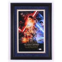 "Daisy Ridley Signed ""Star Wars: The Force Awakens"" 16.5x22.5 Custom Framed Photo (Steiner COA  PSA C"