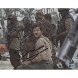"Diego Luna Signed ""Rogue One: A Star Wars Story"" 8x10 Photo (Beckett COA)"