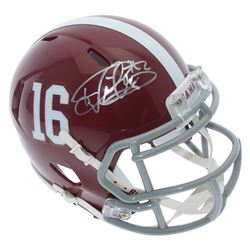 Derrick Henry Signed Alabama Crimson Tide Speed Mini Helmet (Sports Collectibles Hologram)