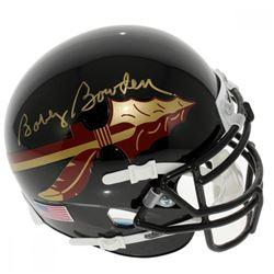 Bobby Bowden Signed Florida State Seminoles Mini Helmet (Sports Collectibles Hologram)