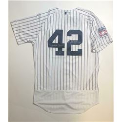 "Mariano Rivera Signed New York Yankees Jersey Inscribed ""HOF 2019""  ""1st Unanimous Vote"" (Steiner CO"
