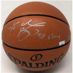 "Kobe Bryant Signed Limited Edition Spalding Basketball Inscribed ""5x Champ"" (Panini COA)"