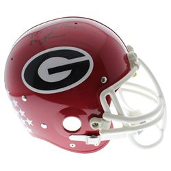"""Herschel Walker Signed Georgia Bulldogs Suspension Full Size Helmet Inscribed  """"82 Heisman""""  """"80 Nat"""