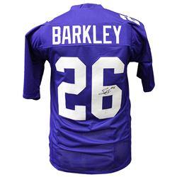 Saquon Barkley Signed Jersey (JSA Hologram)