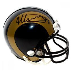 Todd Gurley II Signed Los Angeles Rams Mini Helmet (JSA Hologram)