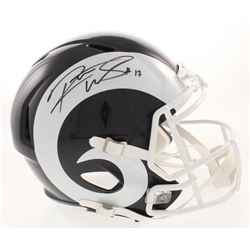 Robert Woods Signed Los Angeles Rams Full-Size Speed Helmet (JSA COA)