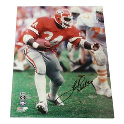 Herschel Walker Signed Georgia Bulldogs 16x20 Photo (Beckett COA)