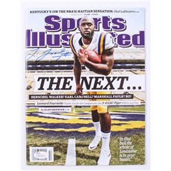 Leonard Fournette Signed 2015 Sports Illustrated Magazine (JSA COA)