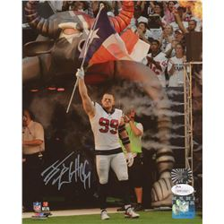 J. J. Watt Signed Houston Texans 8x10 Photo (JSA COA  Watt Hologram)