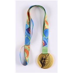 Usain Bolt Signed Rio 2016 Olympic Games Gold Medal (JSA COA)