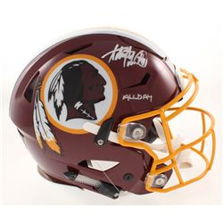 "Adrian Peterson Signed Washington Redskins Full-Size Authentic On-Field SpeedFlex Helmet Inscribed """