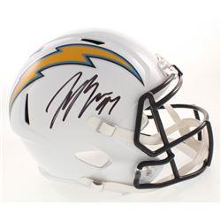 Joey Bosa Signed Los Angeles Chargers Full-Size Speed Helmet (JSA COA)