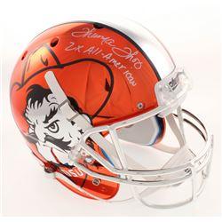 "Thurman Thomas Signed Oklahoma State Cowboys Full-Size Helmet Inscribed ""2x All-American"" (Radtke CO"