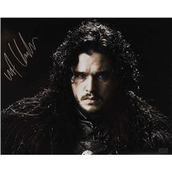 """Kit Harington Signed """"Game of Thrones"""" 16x20 Photo (Radtke COA)"""