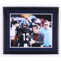 "Jamie Foxx Signed ""Any Given Sunday"" 22.5x26.5 Custom Framed Photo Display (Steiner COA  Authentic S"