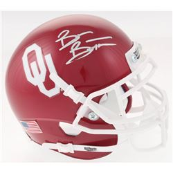 Brian Bosworth Signed Oklahoma Sooners Mini Helmet (JSA COA)