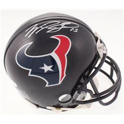Will Fuller Signed Houston Texans Mini Helmet (JSA COA)