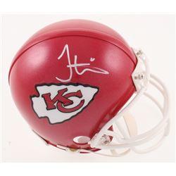 Tyreek Hill Signed Kansas City Chiefs Mini Helmet (JSA COA)