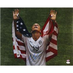 Julie Johnston Signed Team USA 16x20 Photo (JSA COA  Sure Shot Promotions Hologram)