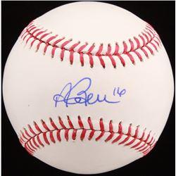 Andrew Benintendi Signed OML Baseball (JSA Hologram)